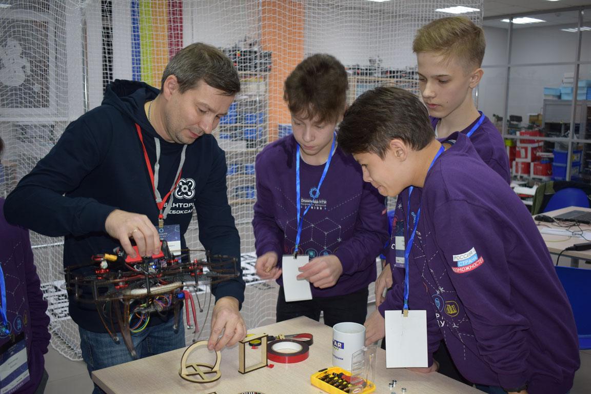 iGrids приняли участие в организации олимпиады НТИ.Junior