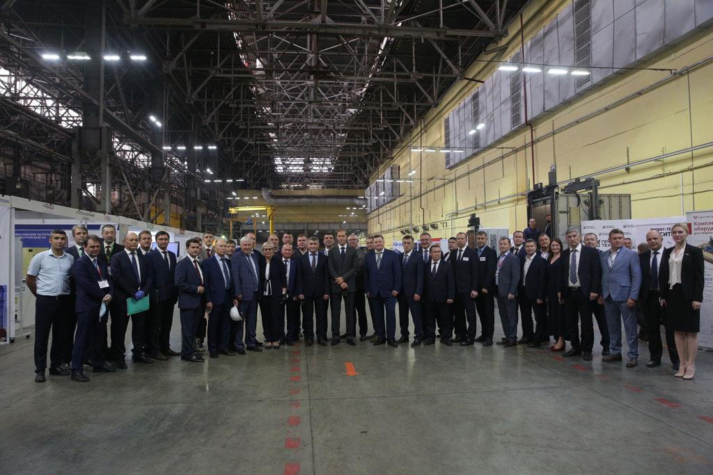 Визит в Чувашию министра промышленности и торговли России Дениса Мантурова